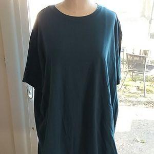 Women's Apt.9 Stretchy Teal Tshirt Size XXL